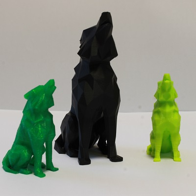 figurki z drukarki 3d Rzeszów rzeźby psów