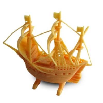 druk 3d z żywic żywice dpp figurka statek