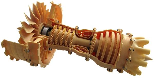 druk 3d z żywic prototypownia 3d rzeszów silnik odrzutowy
